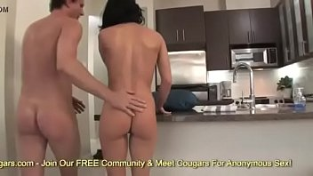 Big ass and busty brunette pawg Valentina Nappi gets fucked