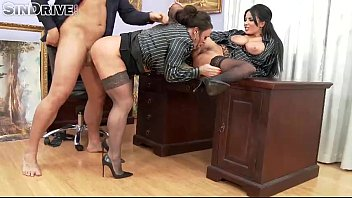 Upperclassfuckfest - Anissa Kate, Nikita Devine - If The Boss Gets Mean, Office Chicks Become Ass&#0