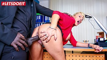 LETSDOEIT - German Boss MILF Lana Vegas Takes Deep BBC From Her Feature Employee