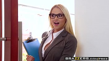 Big Tits at Work -  Her First Big Sale scene starring Sarah Vandella Keiran Lee and Toni Ribas