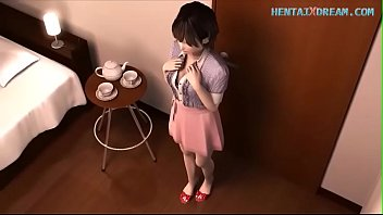 Cute blowjob uncensored at www hentaixdream...