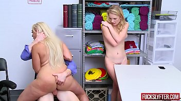 Kylie Kingston, Natalie Knight Fucked by Officer For Stealing Good