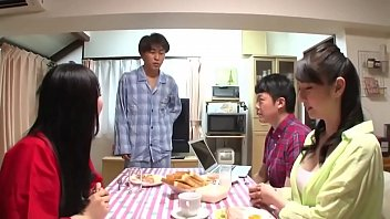 Asian Milf Stepmom Fucked By Stepson After Dinner
