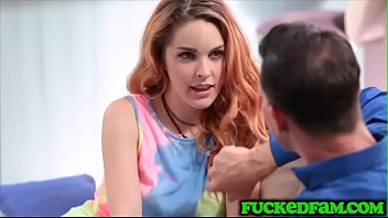 Family reunion with Amarna Miller and creep uncle gets nasty