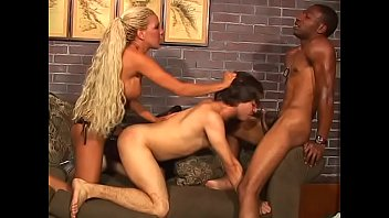 Blonde chick a gay and filled her pussy...