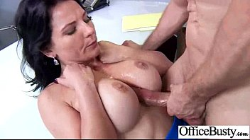 Office Sex Tape With Slut Worker Busty Girl vid-06