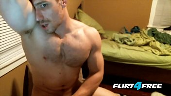 Hung college hunk max hill gets off with...