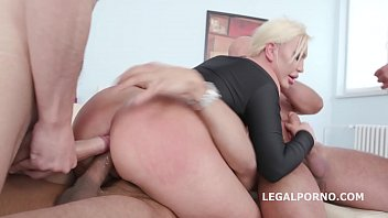 Mature Blonde Gets Fucked By Multiple Men Till You Can No Longer