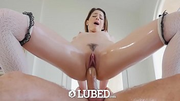 LUβED Ƥriνate scɦool girl Kristen 𝘚cott ᴍessy lubed up fuck