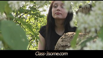 Blonde milf share the same dick with brunette teen