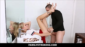 Teen Step Sister Fucked By Mean Brother