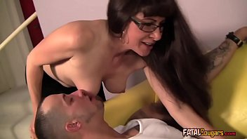 Cougar Therapist Wants His Cock