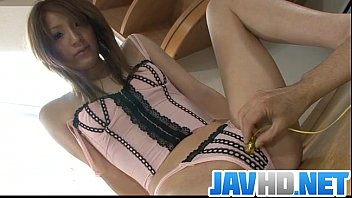 Video porn hot Lustful Japanese babe gets busy with a stiff toy HD in VideoAllSex.Com