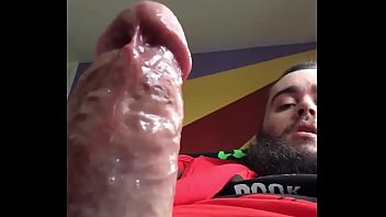 Young Veiny Cock Gets Soaked In Cum