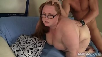 Redheaded plumper Julie Ann More fucked hard