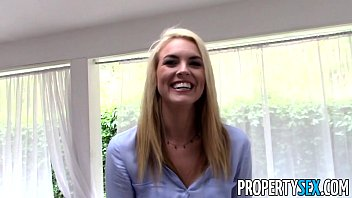 PropertySex - Tricking gorgeous real estate agent into homemade sex video  #67118