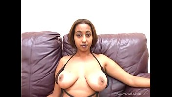 thumb Busty Ebony Model Ross De La Hoya Sucks And R