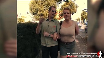 PUBLIC! Milf picked up at gas station and fucked right away