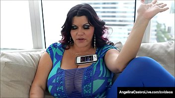 Big Booty Cuban, Angelina Castro, gets a load of warm cum, all over her massive titties, after taking a brown Latino cock in her plump pussy! Full Video & Angelina Live @ AngelinaCastroLive.com!