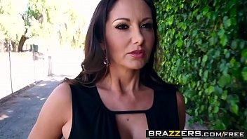 Brazzers - Mommy Got Boobs - Stay Away From My Daughter scene starring Ava Addams and Keiran Lee