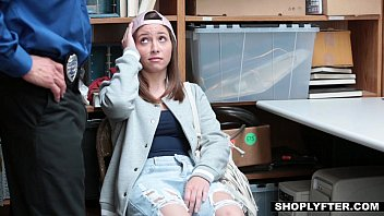 Shoplyfter - Cute Teen (Hayden Hennessy) Fucks Her Way Out Of Trouble