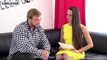 Incredibly muscular stud fucks mea melone at casting...
