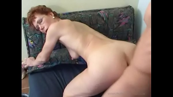 Mother-in-law with glasses and great butt seduces her son-in-law [2]