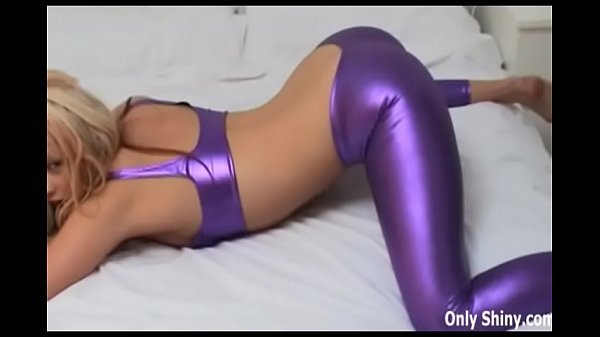 My ass barely even fits in these tight PVC panties