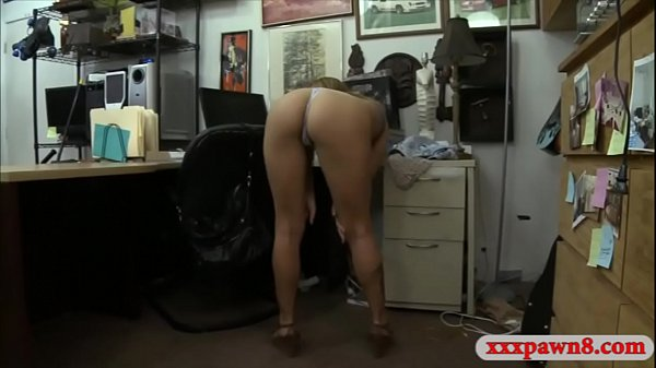 Beautiful brunette babe gets nailed by pervert pawn man