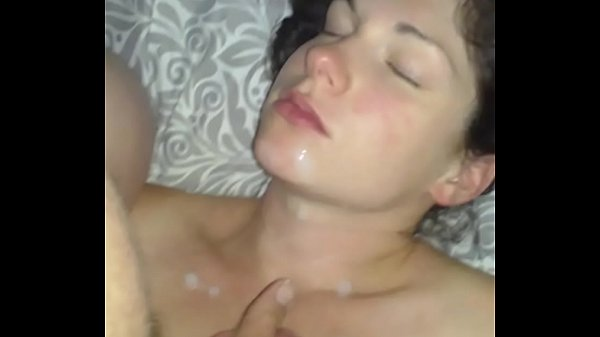 Wife squirting her milk all over husbands cock
