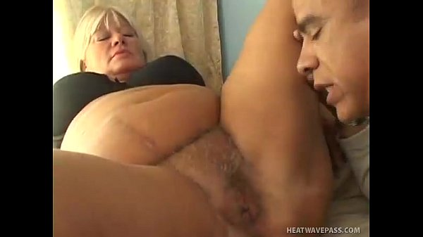 Blonde BBW Gets Her Fat Pussy Drilled