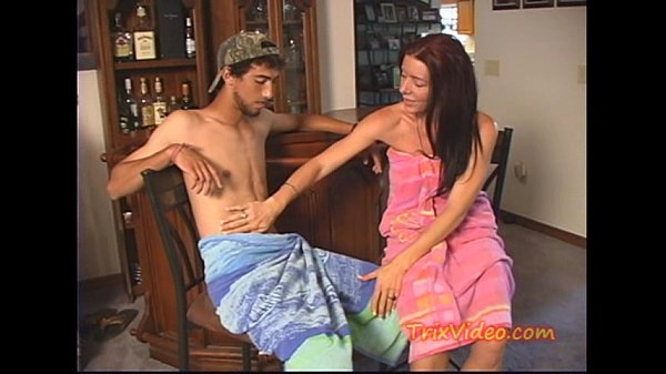 Beautiful assertive video bokep mom son sex his