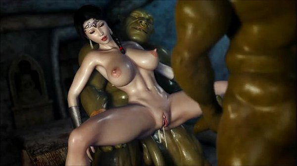 Princess fucked by Monsters 3D
