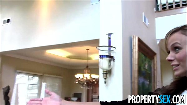 Property Sex - Sexy petite real estate agent tricked into fucking on camera