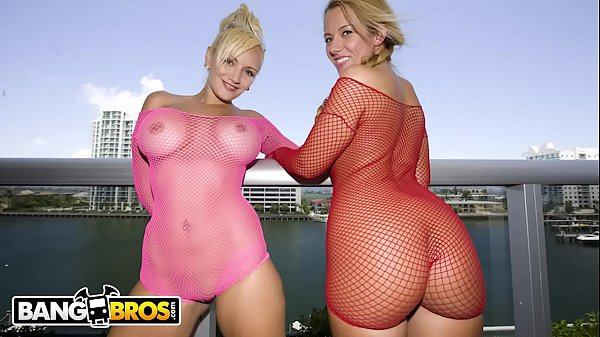 BANGBROS - Big Booty Babes Valerie and Skyla Paris Getting Dicked On Ass Parade!