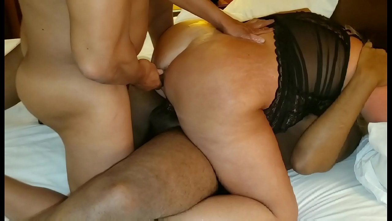Big Ebony Booty Dildo Ride