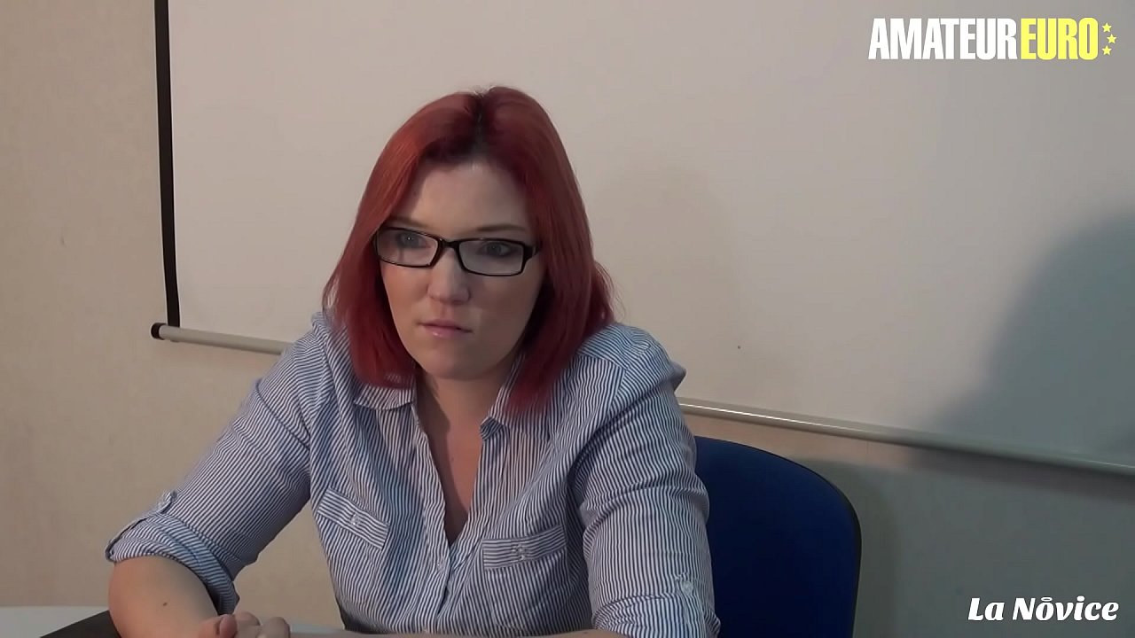 AMATEUR EURO - #Rose Romane - French Redhead Bitch Gets Fucked Hard In Her Tight Hungry Ass