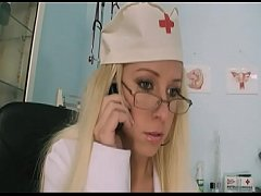 Horny Nurse is very hot and gives the next customer a very slipery ride