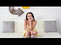Alaina Kristar gets ready for anal with a butt plug - MyVeryFirstTime