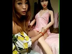 Sex dolls and beautiful women
