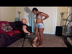 naejae dances for her step dad and lets him cum in her
