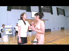 HD Subtitled Japanese ENF CFNF volleyball hazing in HD