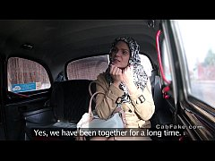 HD Czech blonde lady bangs in fake taxi