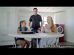 Brazzers - Teens Like It Big - Bad Grades Good Girl scene starring Lilly Ford and Keiran Lee