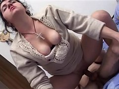 cinzia really enjoys to take the cock of a stranger