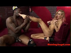 BBC craving bikini model pounded doggystyle