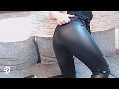 NEUES VIDEO!! LEDER LEGGINGS