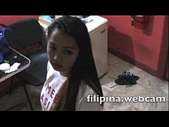 AsiansLive.Webcam Filipinas upskirt panties fetish in hotel Asian hookers dance