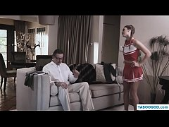 old man fucks dirty cheerleader