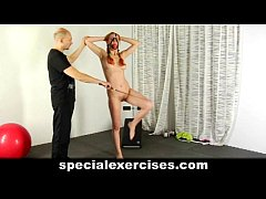 Nude discipline training for redhead teen girl